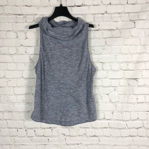 We The Free Pullover Sleeveless Cowl Neck Top